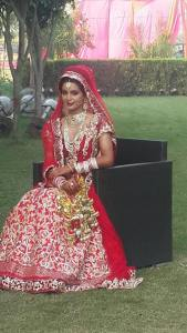 Actress Geeta Basra on her wedding attire