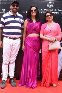 Amir Singh Pasrich, Shivani Pasrich and Actress Sharmila Tagore