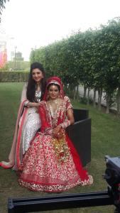 Designer Archana Kochhar with Actress Geeta .