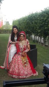 Designer Archana Kochhar with Actress Geeta .