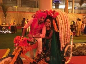 Harbhajan Singh - Geeta Basra - Wedding