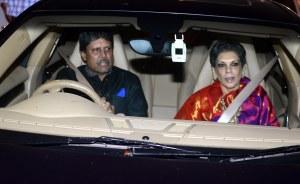 kapil Dev with Romi dev