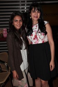 L-R Vivaani Khurana & Dr.Kiran Lohia