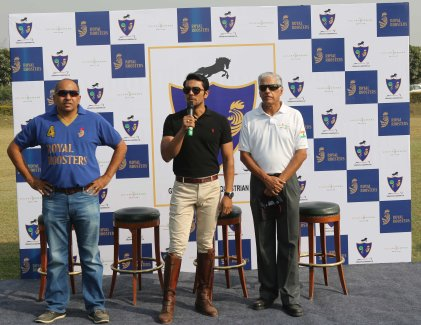 Randeep Hooda announces teh launch of Gurgaon Polo and Equestrian Club-1