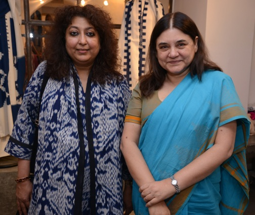 Madhu and Maneka Gandhi