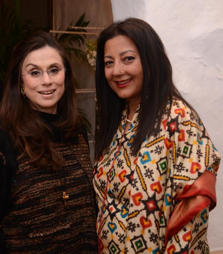 Jewellery Designer Alpana Gujral with Neelam Pratap Rudy