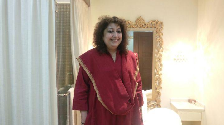 Fashion Designer Madhu Jain
