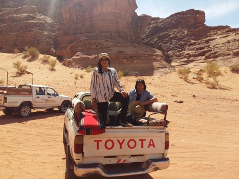 ROAMING THE DESERT SANDS AT WADI RUM