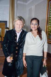 Rohit Bal with Shashi Sunny