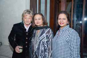 Rohit Bal with Shirin Paul and Priya Paul