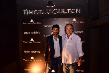 Amit Vadehra with Timothy Oulton