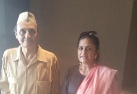 with Dr Karan Singh