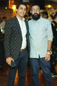 (L-R) Aamir Rajput, Sahil Gulati