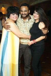 (L-R) Sylvie Rodgers, Nikhiel Kumar, Shalini Chauhan