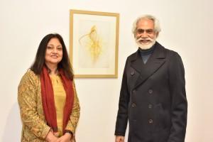 Banhi Jha and Sunil Sethi