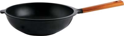 caesar-wok-pan-with-wooden-handle