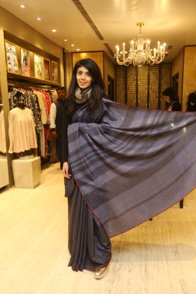 Tanira Sethi in her creation