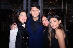 After Event Party Ritu Beri, Rajiv Makhni, Jasbir Gill, Inayat Gill