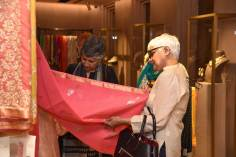 Guest at the event browsing through Vidhi's Collection