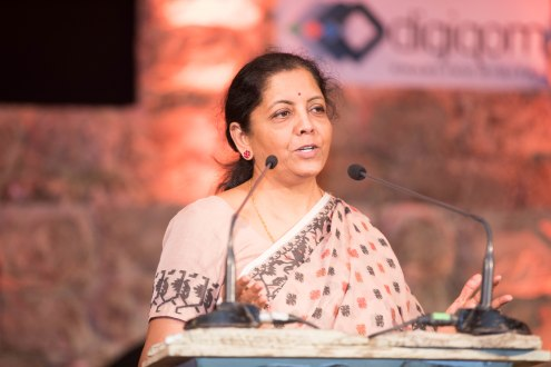 Hon'ble minister Nirmala Sitharaman at Inaugural Session