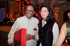 Pavan Varma & Ritu Beri