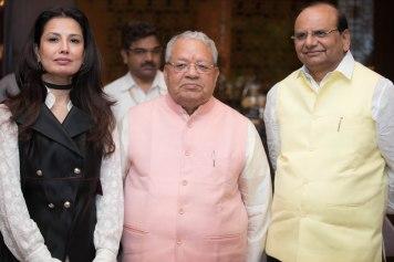 Ritu Beri, Minister Kalraj Mishra, Vinai Kumar Saxena