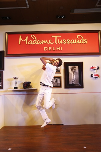 Kapil Dev's wax figure for Madame Tussauds India