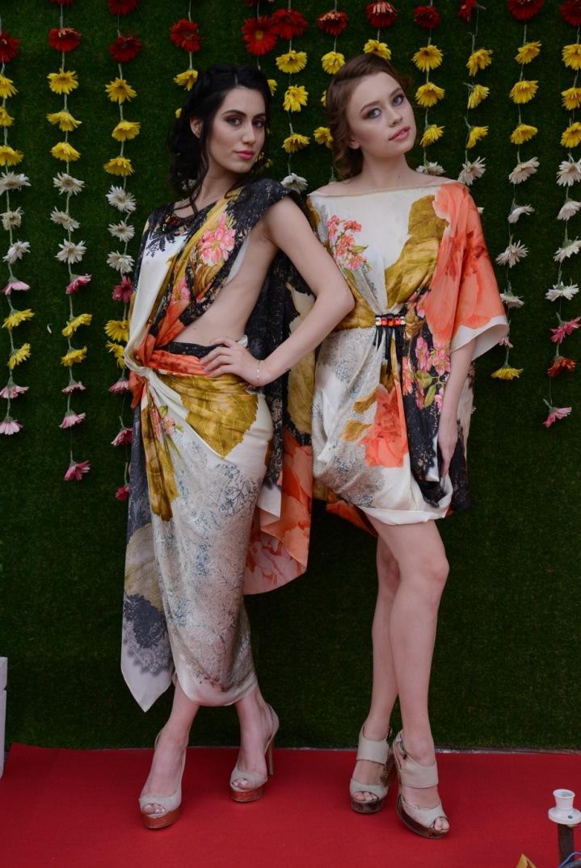 Model Hanna and Model Daria