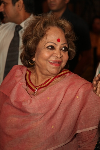 Salma Ansari, wife of the vice President of India