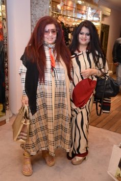 Shahnaz Husain and Nelofar Currimbhoy