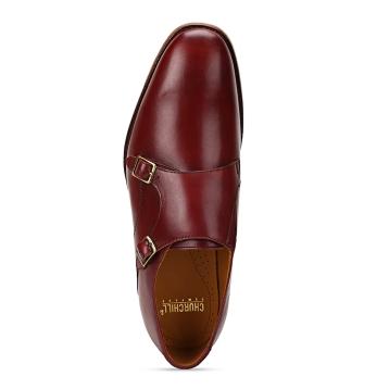 Churchill & Company Tan Double Monk Strap.Price 6499 Availability-www.churchillshoes.com