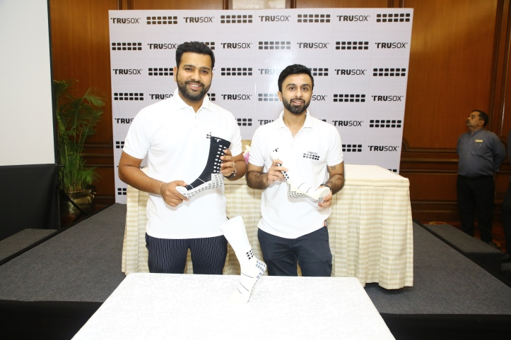 Cricketer Rohit Sharma & Sanil Sachar-Co-owner of Trusox India