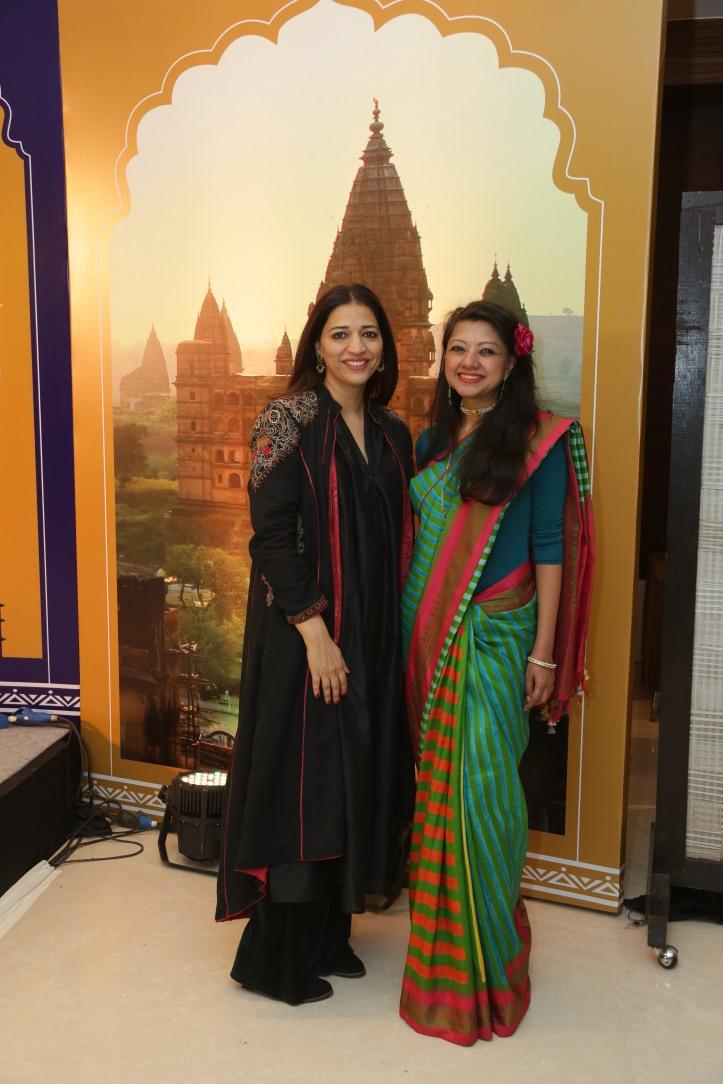 Yasmin Kidwai & Designer Anupamaa Dayal