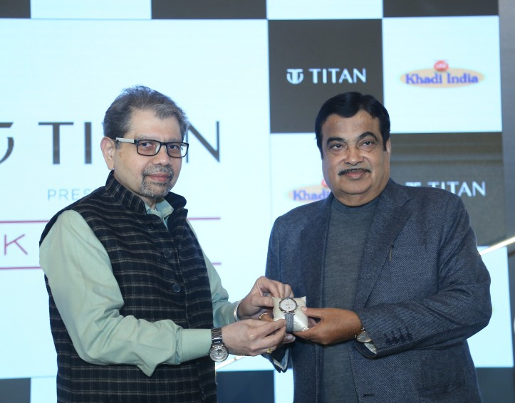 Titan Launches Khadi Collection